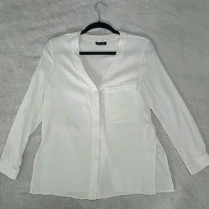 Topshop white tunic